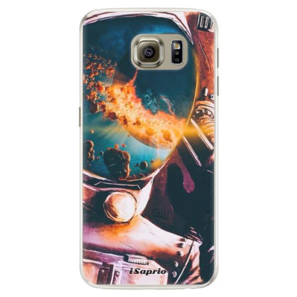 Silikónové puzdro iSaprio - Astronaut 01 - Samsung Galaxy S6 Edge