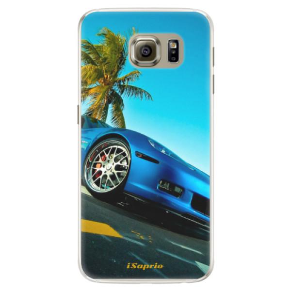 Silikónové puzdro iSaprio - Car 10 - Samsung Galaxy S6 Edge