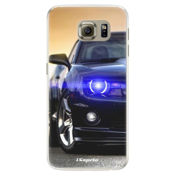 Silikónové puzdro iSaprio - Chevrolet 01 - Samsung Galaxy S6 Edge