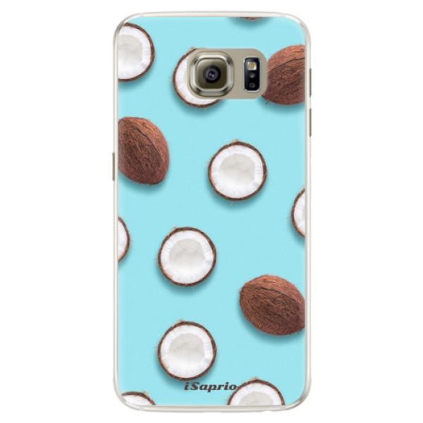Silikónové puzdro iSaprio - Coconut 01 - Samsung Galaxy S6 Edge