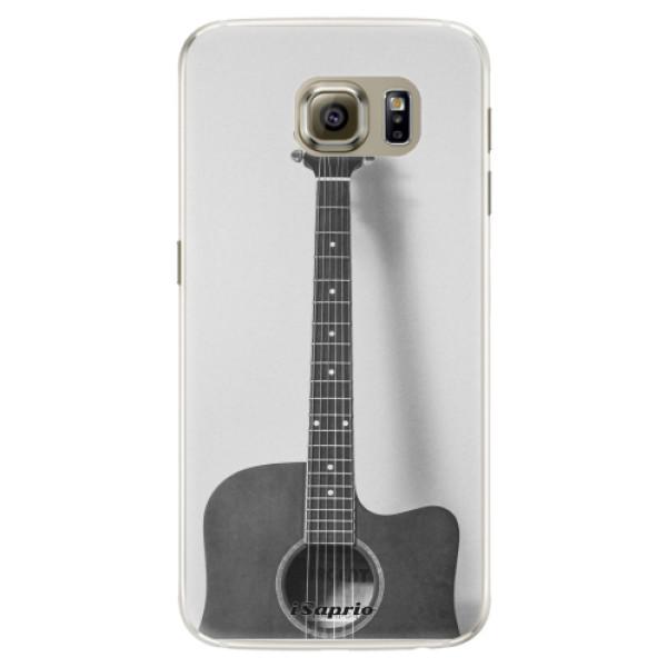 Silikónové puzdro iSaprio - Guitar 01 - Samsung Galaxy S6 Edge