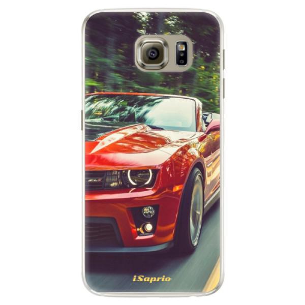Silikónové puzdro iSaprio - Chevrolet 02 - Samsung Galaxy S6 Edge