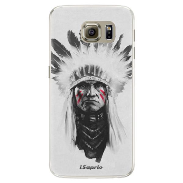 Silikónové puzdro iSaprio - Indian 01 - Samsung Galaxy S6 Edge