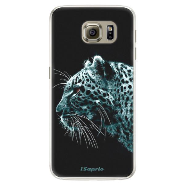 Silikónové puzdro iSaprio - Leopard 10 - Samsung Galaxy S6 Edge