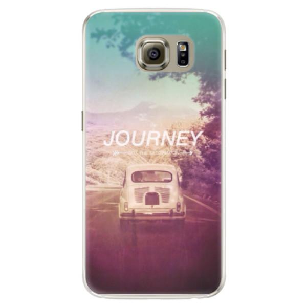 Silikónové puzdro iSaprio - Journey - Samsung Galaxy S6 Edge