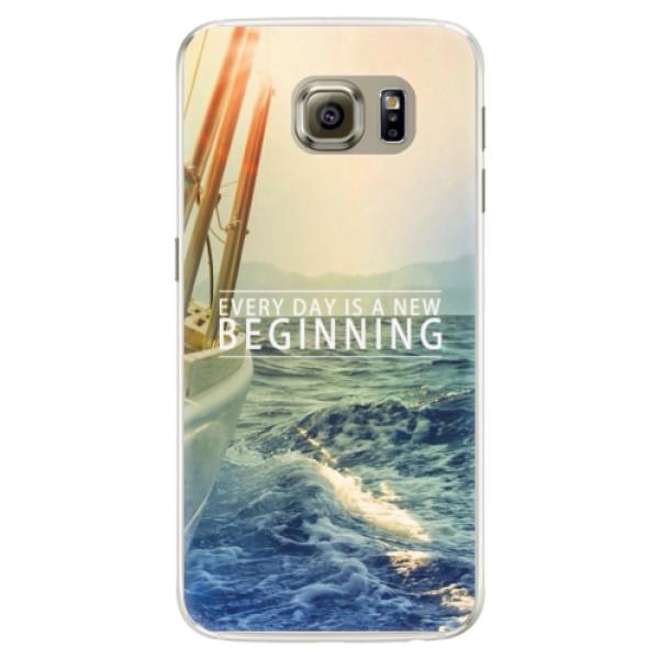 Silikónové puzdro iSaprio - Beginning - Samsung Galaxy S6 Edge