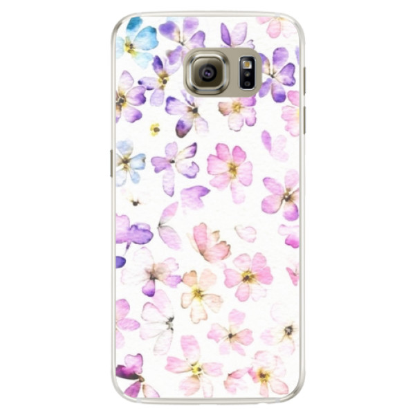 Silikónové puzdro iSaprio - Wildflowers - Samsung Galaxy S6 Edge