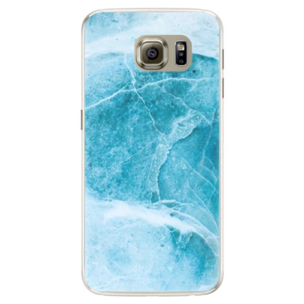 Silikónové puzdro iSaprio - Blue Marble - Samsung Galaxy S6 Edge