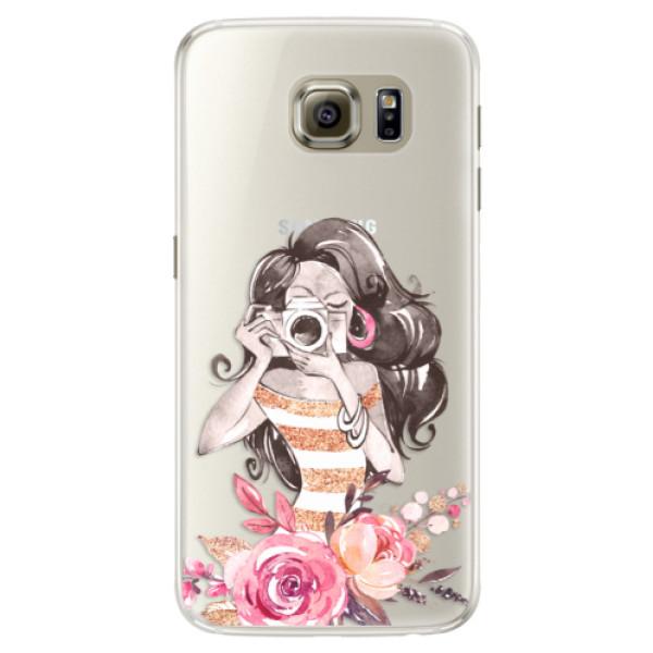 Silikónové puzdro iSaprio - Charming - Samsung Galaxy S6 Edge