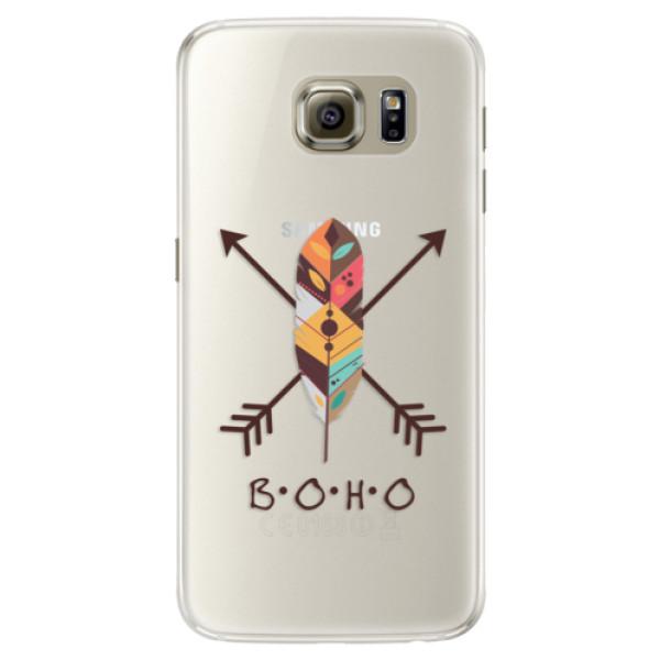 Silikónové puzdro iSaprio - BOHO - Samsung Galaxy S6 Edge