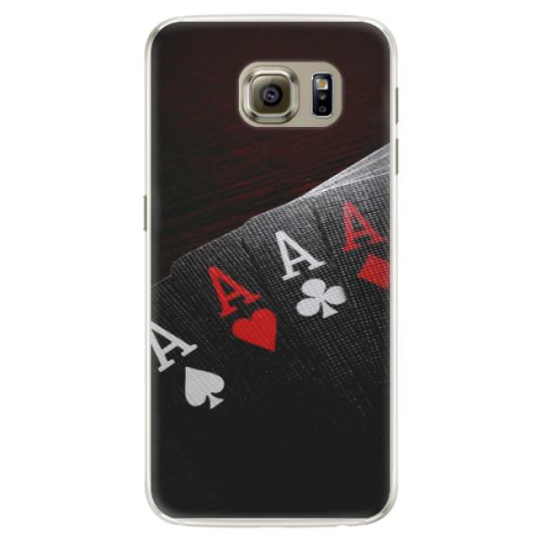 Silikónové puzdro iSaprio - Poker - Samsung Galaxy S6 Edge