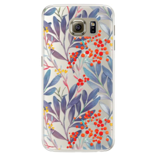 Silikónové puzdro iSaprio - Rowanberry - Samsung Galaxy S6 Edge