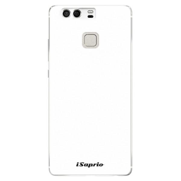 Silikónové puzdro iSaprio - 4Pure - bílý - Huawei P9