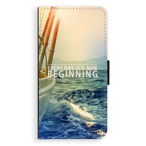 Flipové puzdro iSaprio - Beginning - iPhone XS Max