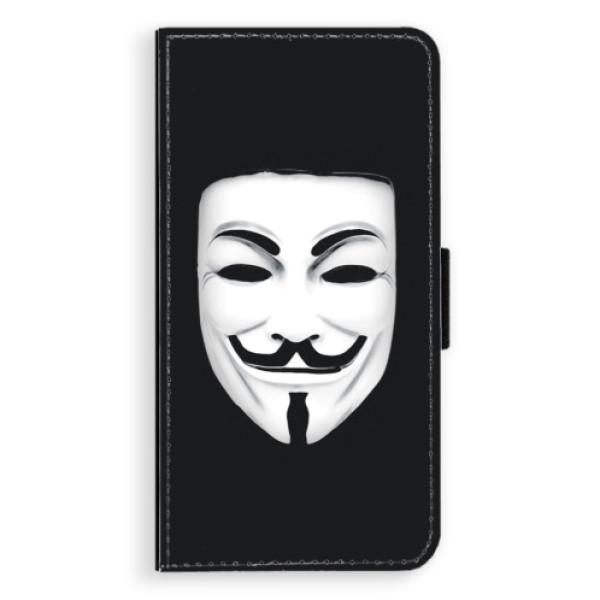 Flipové puzdro iSaprio - Vendeta - iPhone XS Max