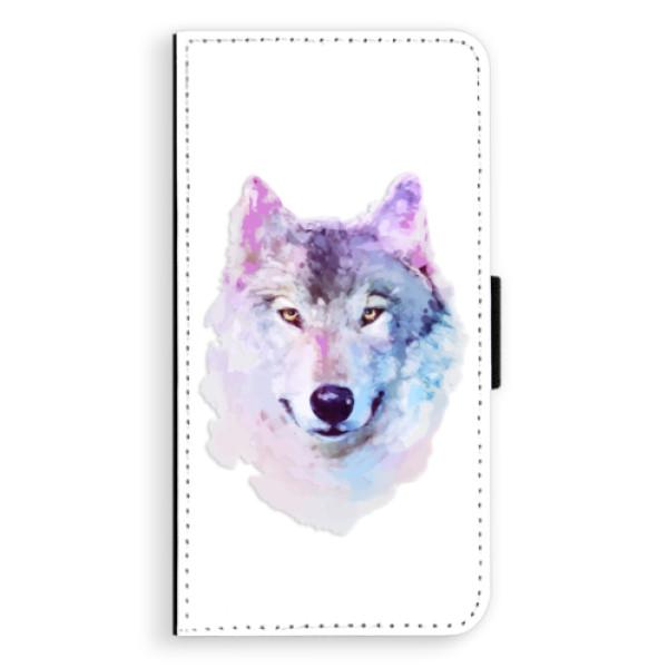 Flipové puzdro iSaprio - Wolf 01 - iPhone XS Max