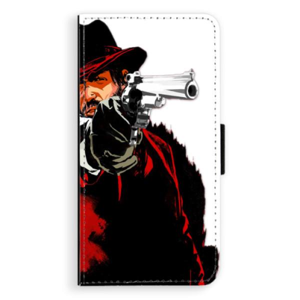 Flipové puzdro iSaprio - Red Sheriff - iPhone XS Max
