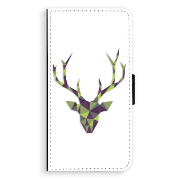 Flipové puzdro iSaprio - Deer Green - iPhone XS Max