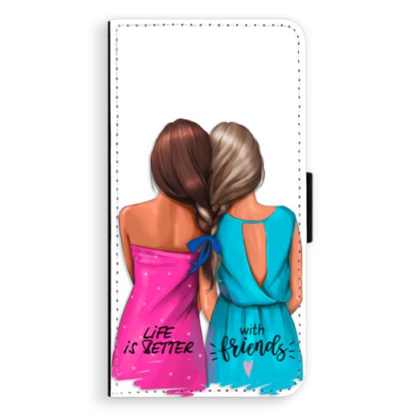 Flipové puzdro iSaprio - Best Friends - iPhone XS Max