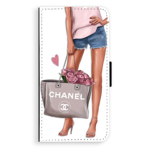 Flipové puzdro iSaprio - Fashion Bag - iPhone XS Max