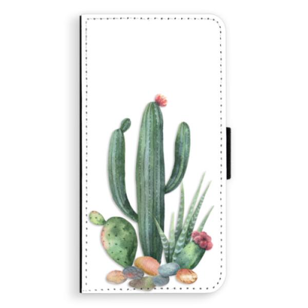 Flipové puzdro iSaprio - Cacti 02 - iPhone XS Max