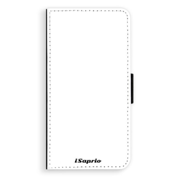 Flipové puzdro iSaprio - 4Pure - bílý - iPhone XS Max