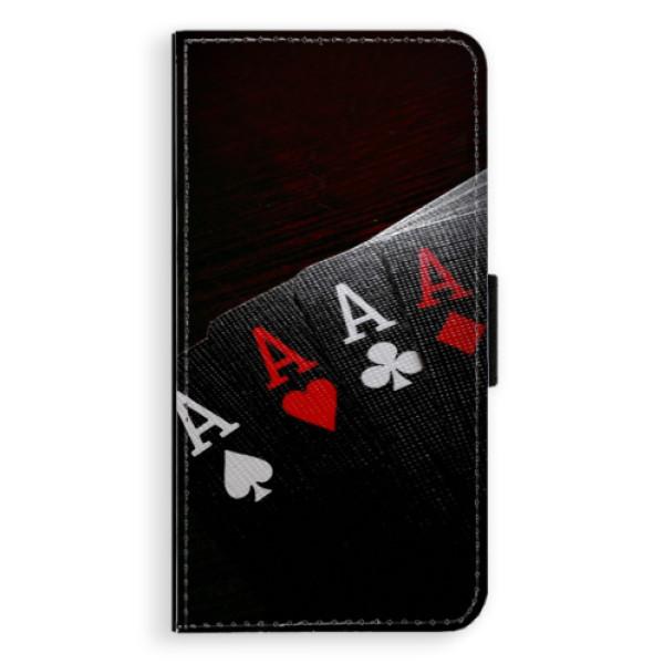 Flipové puzdro iSaprio - Poker - iPhone XS Max