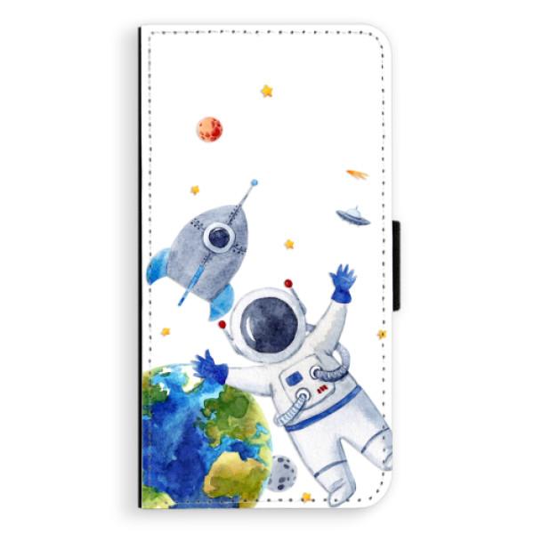 Flipové puzdro iSaprio - Space 05 - iPhone XS Max