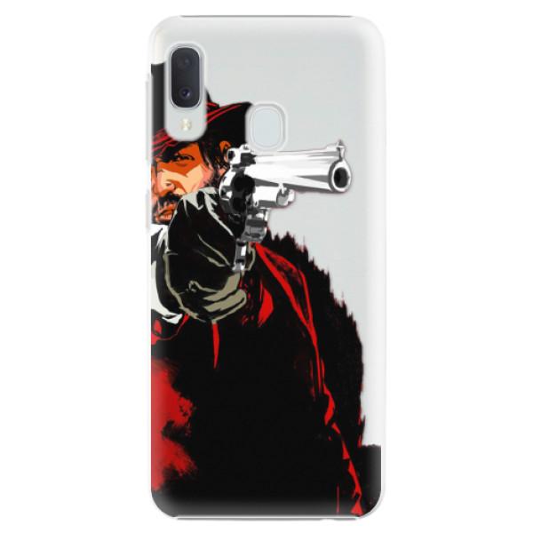 Plastové puzdro iSaprio - Red Sheriff - Samsung Galaxy A20e