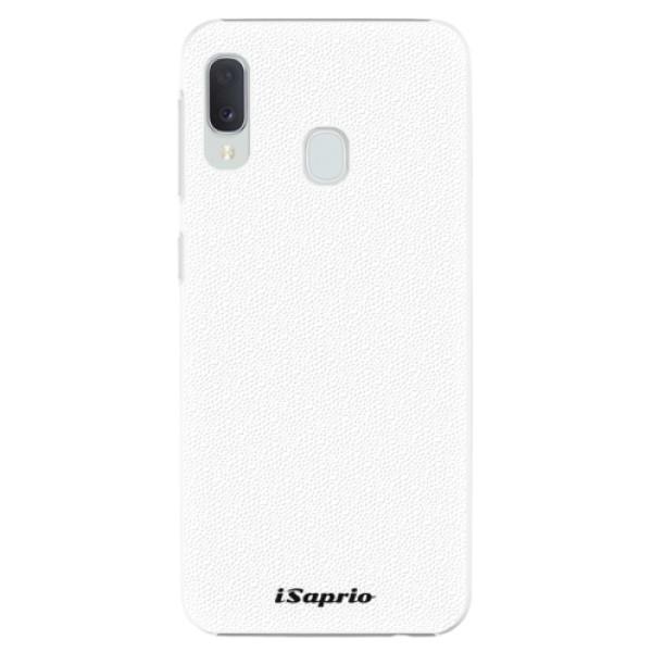 Plastové puzdro iSaprio - 4Pure - bílý - Samsung Galaxy A20e