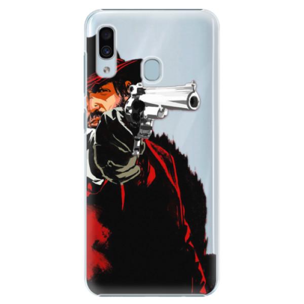 Plastové puzdro iSaprio - Red Sheriff - Samsung Galaxy A30