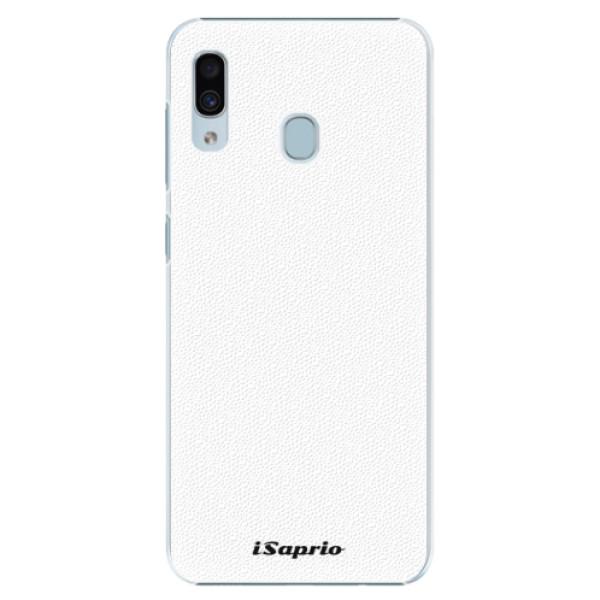 Plastové puzdro iSaprio - 4Pure - bílý - Samsung Galaxy A30