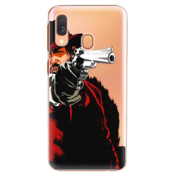 Plastové puzdro iSaprio - Red Sheriff - Samsung Galaxy A40