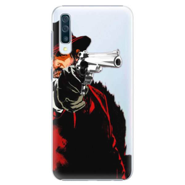 Plastové puzdro iSaprio - Red Sheriff - Samsung Galaxy A50