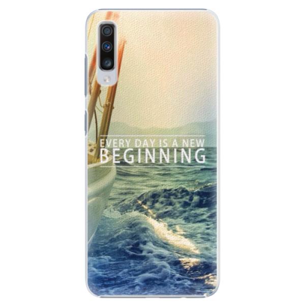 Plastové puzdro iSaprio - Beginning - Samsung Galaxy A70