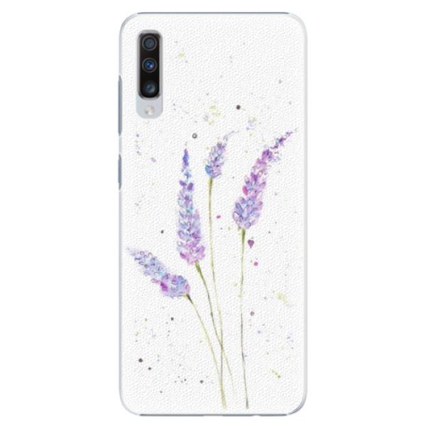 Plastové puzdro iSaprio - Lavender - Samsung Galaxy A70