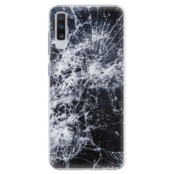 Plastové puzdro iSaprio - Cracked - Samsung Galaxy A70