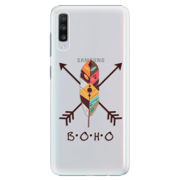 Plastové puzdro iSaprio - BOHO - Samsung Galaxy A70