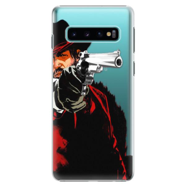 Plastové puzdro iSaprio - Red Sheriff - Samsung Galaxy S10