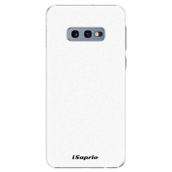 Plastové puzdro iSaprio - 4Pure - bílý - Samsung Galaxy S10e