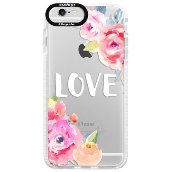 Silikónové púzdro Bumper iSaprio - Love - iPhone 6/6S