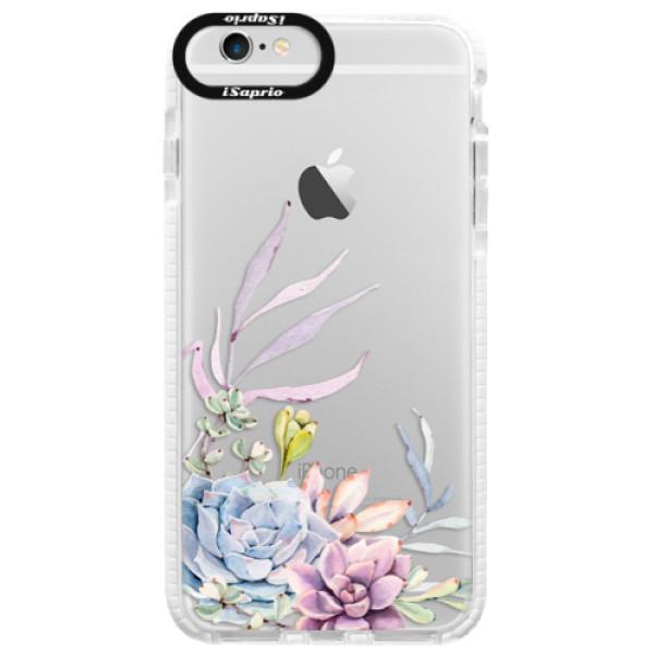 Silikónové púzdro Bumper iSaprio - Succulent 01 - iPhone 6/6S