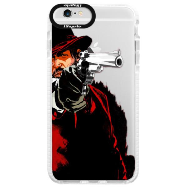 Silikónové púzdro Bumper iSaprio - Red Sheriff - iPhone 6/6S