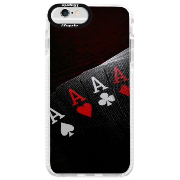 Silikónové púzdro Bumper iSaprio - Poker - iPhone 6/6S