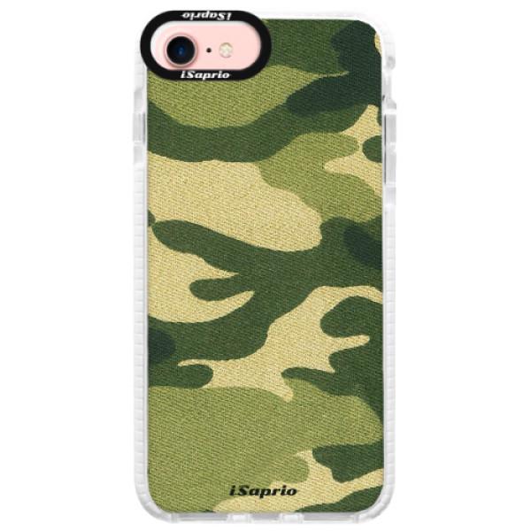 Silikónové púzdro Bumper iSaprio - Green Camuflage 01 - iPhone 7