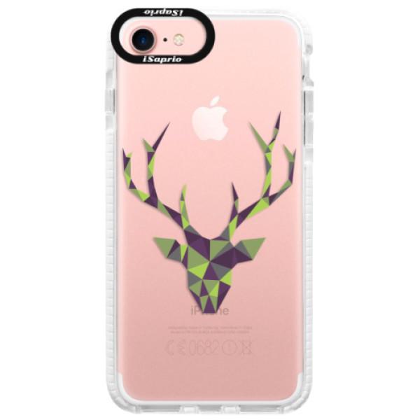 Silikónové púzdro Bumper iSaprio - Deer Green - iPhone 7