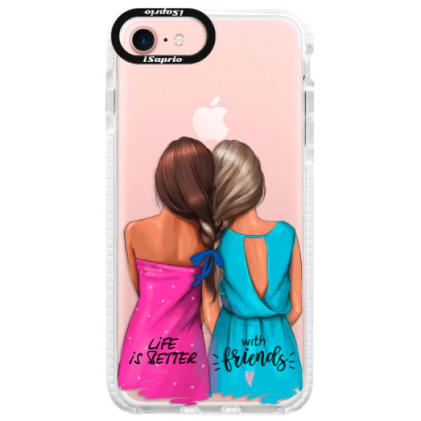 Silikónové púzdro Bumper iSaprio - Best Friends - iPhone 7