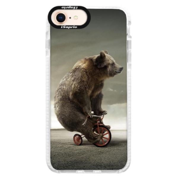 Silikónové púzdro Bumper iSaprio - Bear 01 - iPhone 8