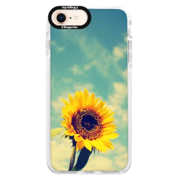 Silikónové púzdro Bumper iSaprio - Sunflower 01 - iPhone 8