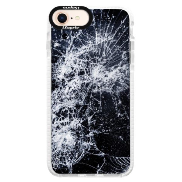 Silikónové púzdro Bumper iSaprio - Cracked - iPhone 8